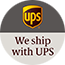 UPS Express Saver® by 12pm Logo